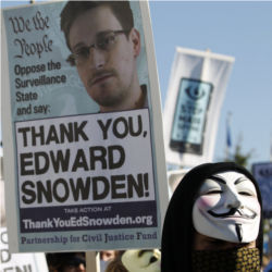 Edward Snowden, for clemency