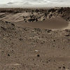 Curiosity Mars Rover Checking Possible Smoother Route