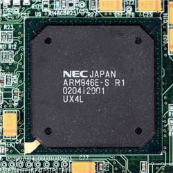 ARM-designed microprocessor chip