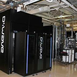 The D-Wave system with the 512 qubit chip is being tested by NASA and Google.