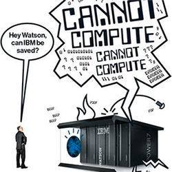 IBM cannot compute