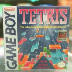 Game Boy version of Tetris