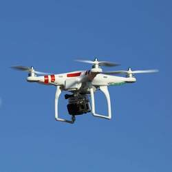 Quadcopters like this one could help engineers and scientists monitor bridge safety.