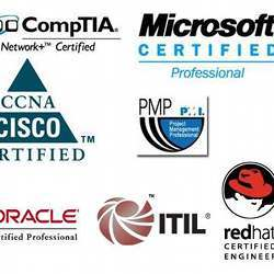 Some of the most-requested IT certifications.