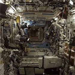 Interior of International Space Station