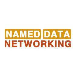 Logo of the Named Data Networking project.