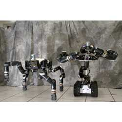 Two robots created by NASA's Jet Propulsion Laboratory.