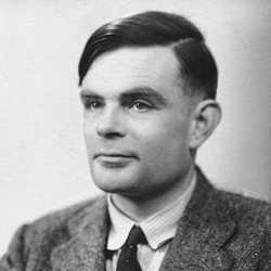 Computer scientist Alan Turing.