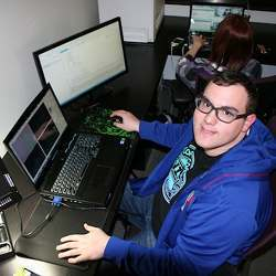 Aaron Winston, who is autistic, works full-time as a staff programmer.