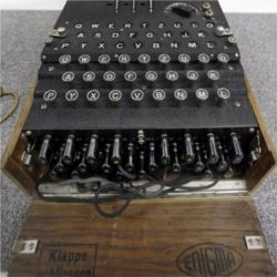 Nazi Enigma encryption machine