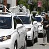 Self-Driving Cars Getting Dinged in California