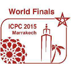 The logo for ICPC 2015 in Marrakech.