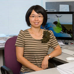 Wenwen Li, a professor in Arizona State University's School of Geographical Sciences and Urban Planning, is using cutting-edge computer science techniques to support terrain and environmental research.