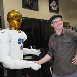 Robonaut 2 and Andy Weir