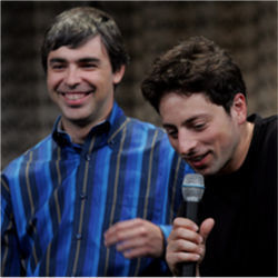 Larry Page and Sergey Brin, Google