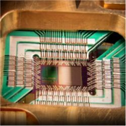 D-Wave quantum chip