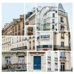 What Makes Paris Look Like Paris? collage
