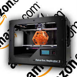 A three-dimensional printer sold by Amazon.