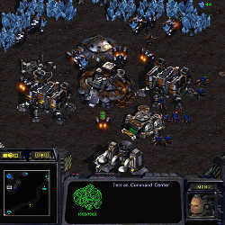 A StarCraft: Brood War screenshot.
