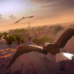Eagle Flight, a forthcoming virtual-reality video game from Ubisoft Entertainment, lets you play from the perspective of an eagle.