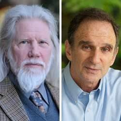 Whitfield Diffie (left) and Martin E. Hellman.