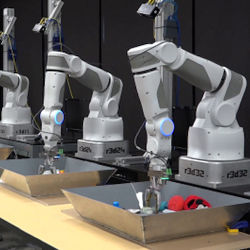 how google wants to solve robotic grasping by letting robots learn Robotic Grasping Appendage robot arms learning to grasp objects