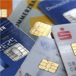 Credit and debit cards with chips