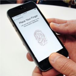 iPhone fingerprint security