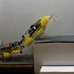 Two VelociRoACH robots.