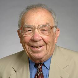 Robert Fano, a professor emeritus in the Massachusetts Institute of Technology's Department of Electrical Engineering and Computer Science.