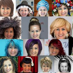 Imaging Software Predicts How You Look With Different Hair Styles