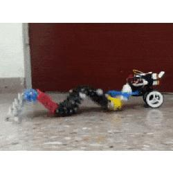 The Single-Actuator Wave robot.