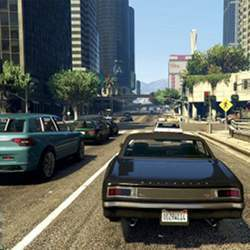 Picking out cars in a video game is a similar task to doing it in reality.