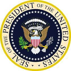 Seal of the President of the United States.