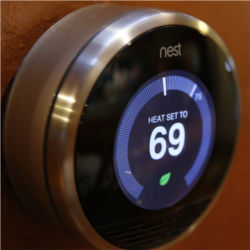 Nest thermostat, Internet-connected device
