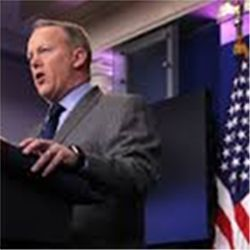 Sean Spicer, White House press secretary