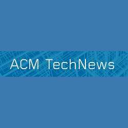 The ACM TechNews banner.