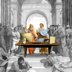 How Aristotle Created the Computer, illustration