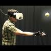 Using Virtual Reality to Catch a Real Ball