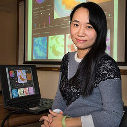 Wei Xu, a computer scientist who is part of Brookhaven National Laboratory's Computational Science Initiative.