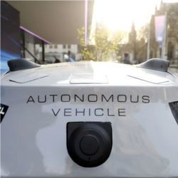 Sensors on autonomous vehicle