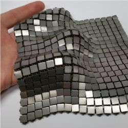 Metallic space fabric