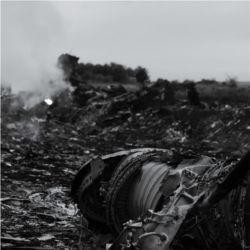 MH17 wreckage, Ukraine