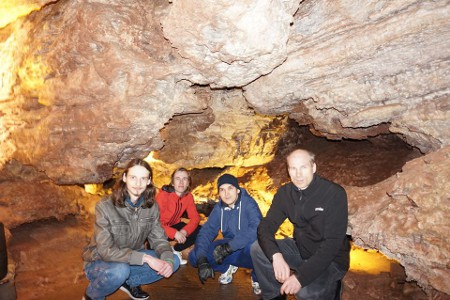 Latvian ICPC team visits Wind Cave National Park