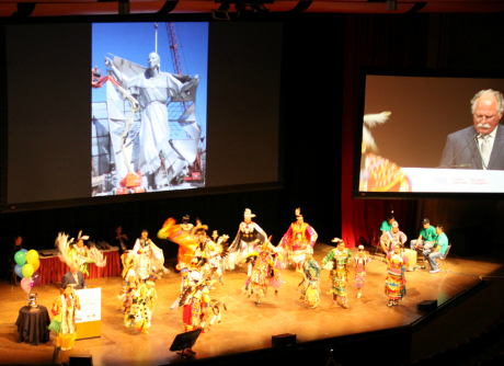 Lakota dance at 2017 ACM-ICPC Opening Ceremony
