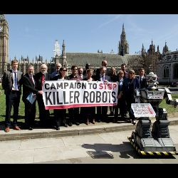 Campaign to Stop Killer Robots participants, London 2013