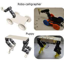 A new interactive design tool permits the creation of customized legged or wheeled robots.