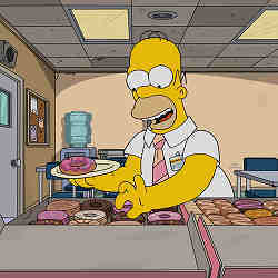 Deepmind algorithms can't capture actions performed by Homer Simpson as acurately as they do actions by normal humans.