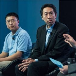 Tong Zhang (Tencent) and Andrew Ng (Stanford)