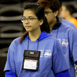 Simran Dokania at the 2017 ACM ICPC World Finals